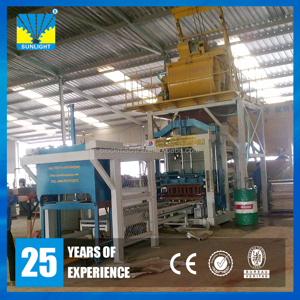 Construction hydraulic cement concrete brick block making machine price list in india