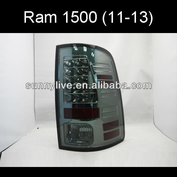 Dodge Ram 1500 LED Tail light 2011-2013 SONAR Style