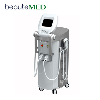 Spa shr ipl e light ipl rf beauty equipment hair removal rf + nd yag laser multifunction machine