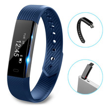ID115 Smart Bracelet Fitness Tracker Step Counter Activity Tracker