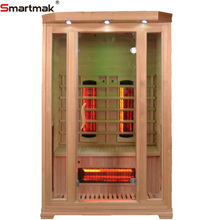 Near best ozone cheap far infrared sauna with 2 person