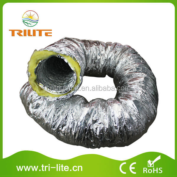 Insulated flexible duct/vent duct