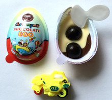Surprise egg chocolate egg with toy kinder egg