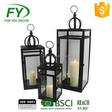 Fancy design chinese ramadan metal lantern candle holder