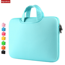 Osgoodway Multicolor Soft Laptop Sleeve Briefcase 15.6 inch Laptop Bag Case Notebook Bags