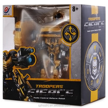 Custom Two in One JIA QI TTT661 Bumblebee Transform rc robot car