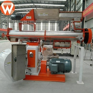 Chinese reliable manufacturer napier grass livestock goat cattle feed pellet machine price