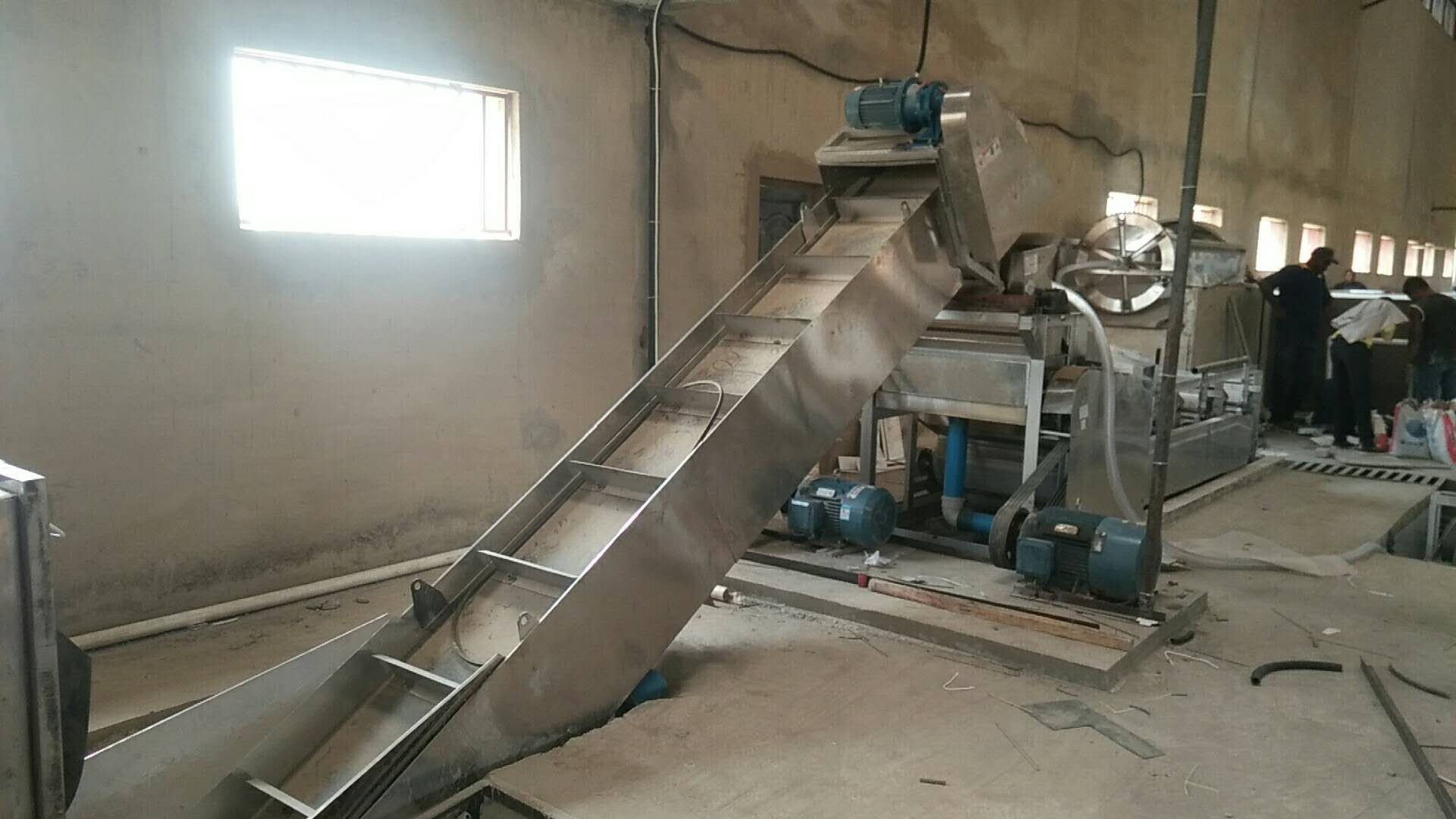 High quality stainless steel cassava tapioca starch production line for Nigeria