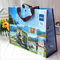 90% of customers repeat orders non-woven lamination gift wine bag