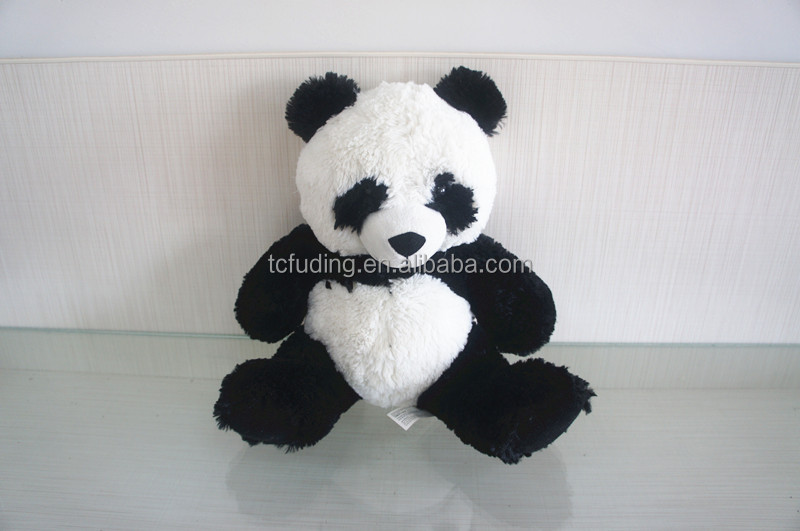 ICTI factory custom plush material stuffed panda toy