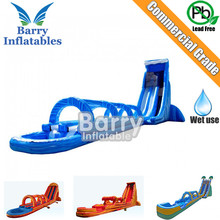 Commercial Barry manufacture giant inflatable water slide, slip n slide inflatable