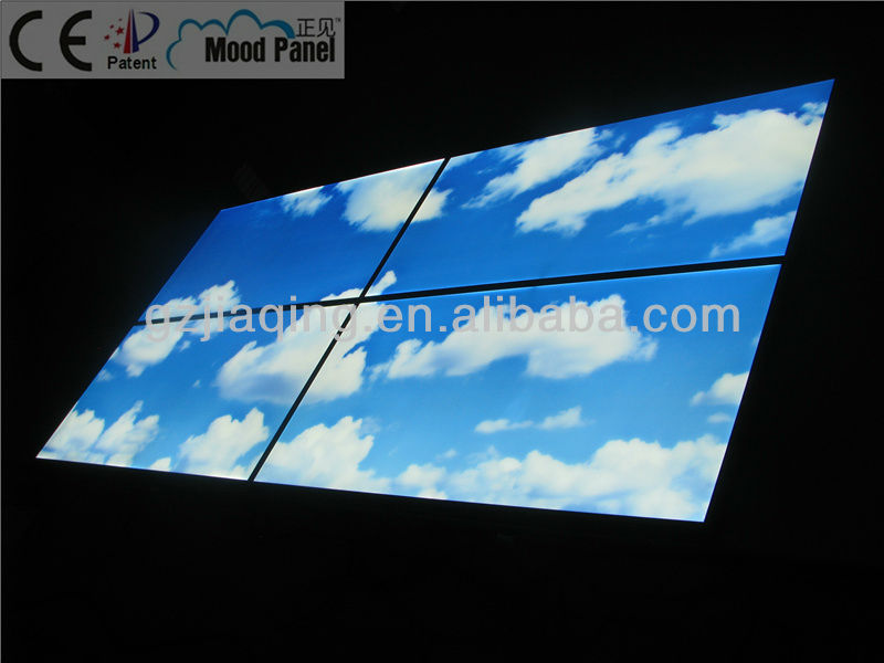 blue sky and cloud LED ceiling panel
