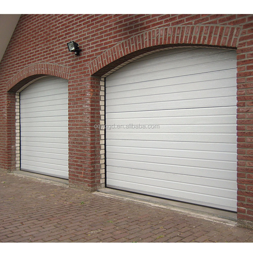 Custom size garage doors overhead lift pu foam insulated for Overhead garage door sizes