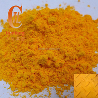 Lead chromate yellow, medium chrome yellow, inorganic pigment yellow 34, C.I. 77603
