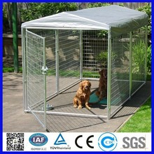 Heady duty dog cage for sale cheap/welded wire mesh dog cage