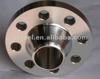 A105 Carbon Steel flange ANSI B16.5 for heat exchange
