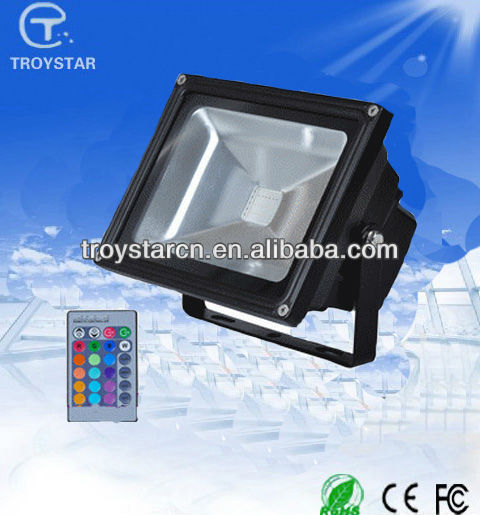 New Product Stage Bar Wedding Auditorium Hall CE&ROHS 30w flood light rgb led price