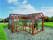 Aluminium frame Sunroom with triangle roof