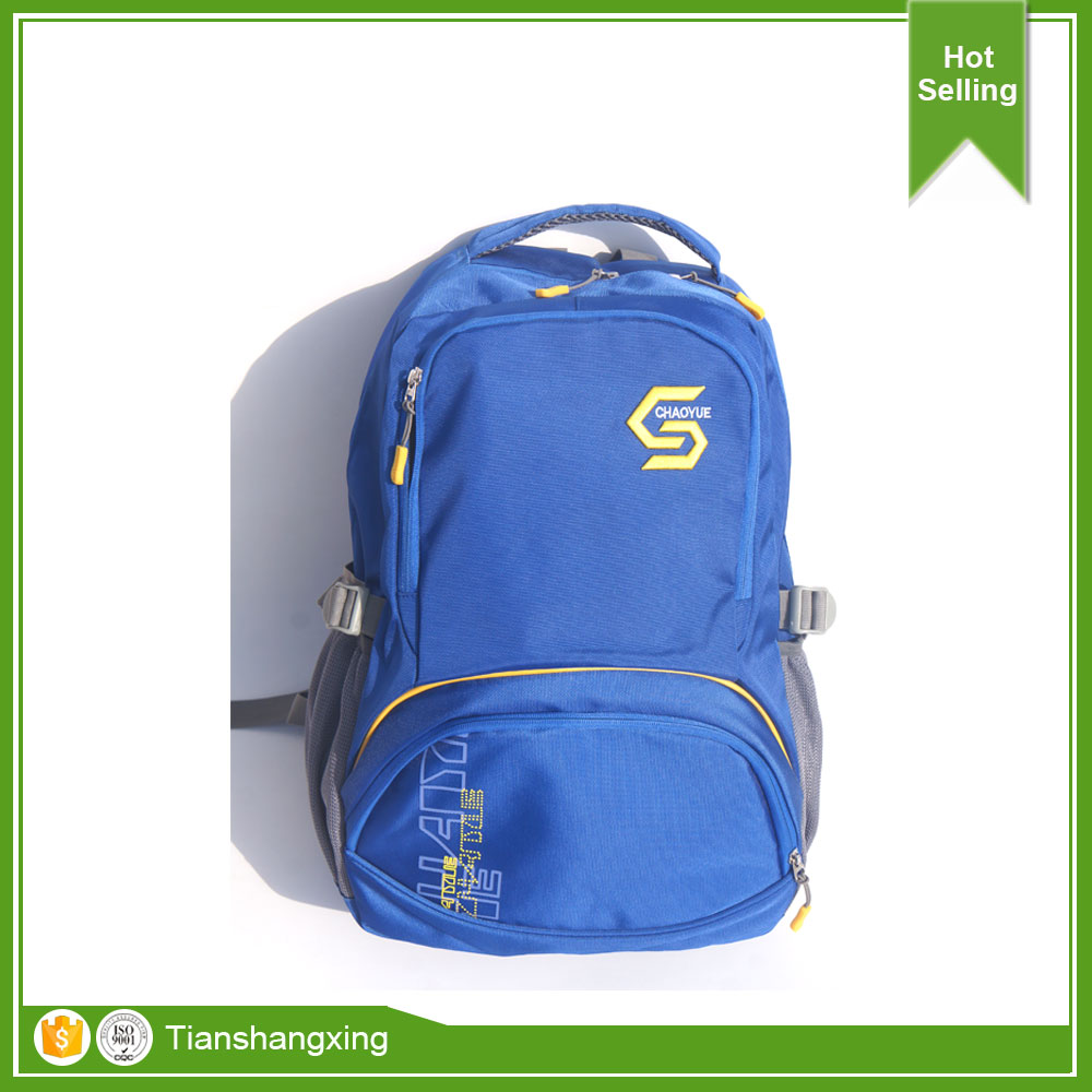 Polyester wholesale school bag Teen school backpack for boys