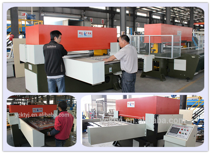 New Year Double Side Hydraulic Automatic Cutting Machine for Blister Package (Factory Direct Sale)