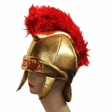 MCH-1186 Party Carnival funny velvet wholesale Medieval Roman Knight Hat