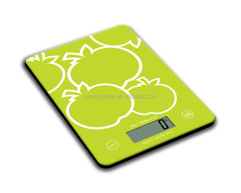 glass digital kitchen weight scale with milk liquid weighing functiion 5kg