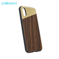 Eco-friendly mobile phone cases for apple phone X case custom wood