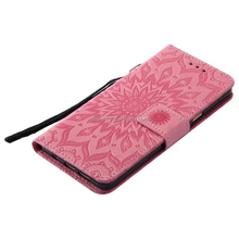 Flower Pattern PU Leather Flip Cover Case Phone Shell For ZTE 981 For Google Mobile Phone