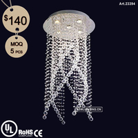 Luxury Chandelier Modern Crystal Pendant Light