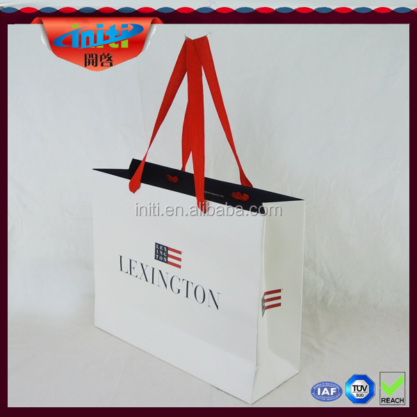 Lovely photo printing clothes kraft paper storage bag