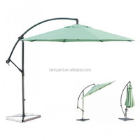 Outdoor banana umbrella waterproof patio umbrella sun garden parasol umbrella
