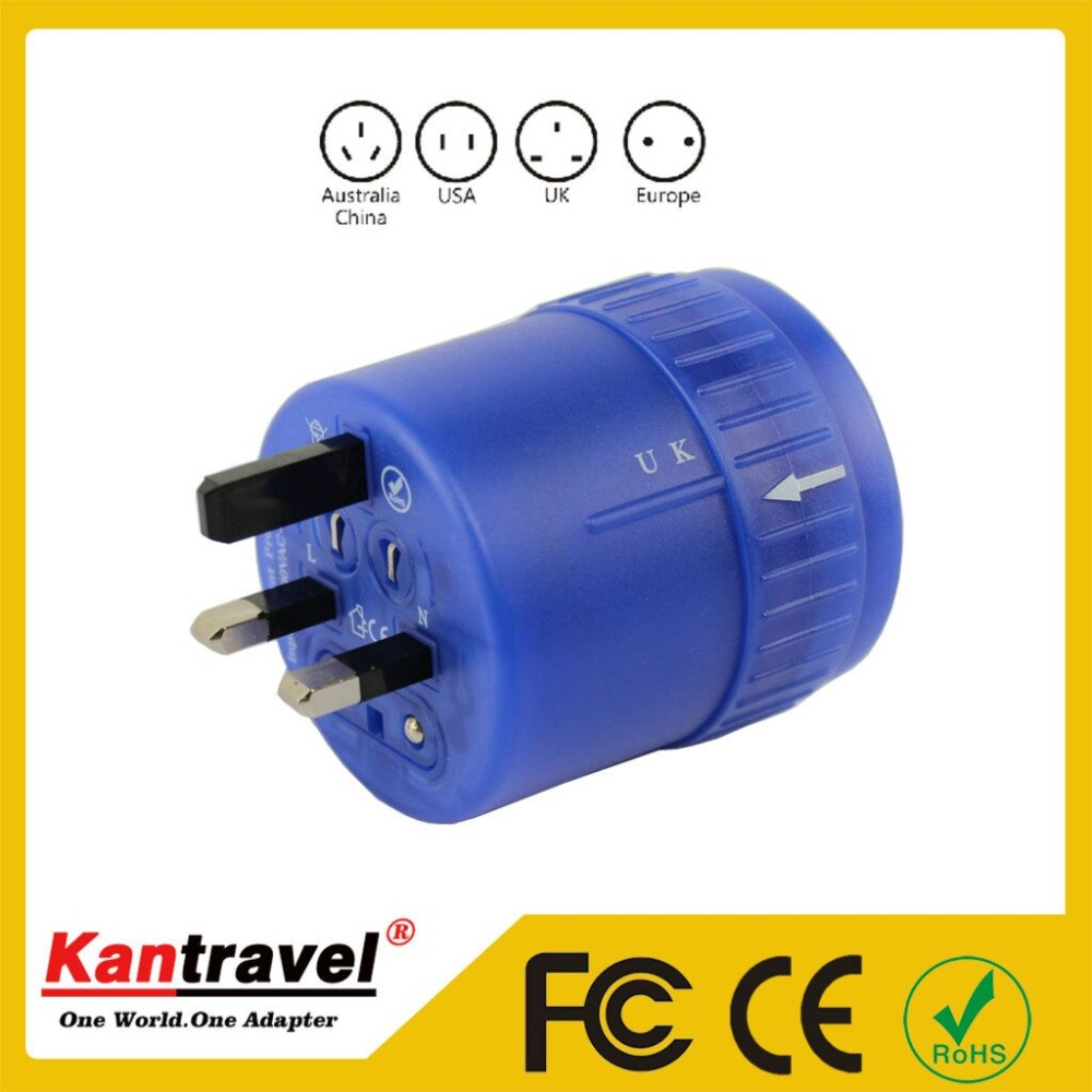 Universal conversion socket adapter plug universal go abroad Multi-function power supply plug the British South Korea the United