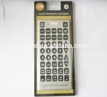 Giant remote control Jumbo universal remote control with big button