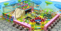 Kaiqi The 2014 catalog of Children indoor playground equipment KQ35274B