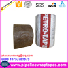 Grease fiber tape for oil gas tank pipeline anticorrosion