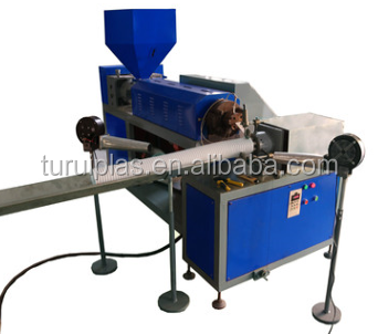 TURUI SJ-45 Spiral Steel Wire PVC PP PE PU Hose Pipe Duct Production Line Making Machine