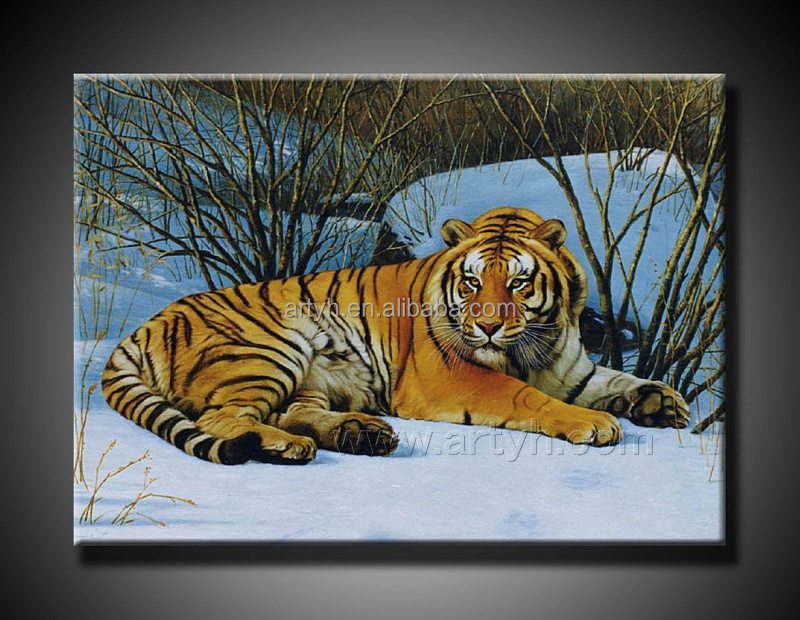 New traditional chinese painting tiger
