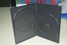 UW-DVD-174 7mm black double disc dvd case