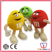 GSV SEDEX Factory customized lovely new design newborn soft toy