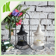 Handmade candle lanterns set of 3 // Excellent quality home decoration set of 3 metal lantern