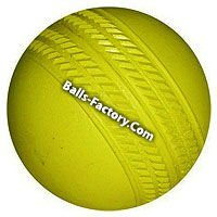 Solid rubber custom Promotional Cricket Balls