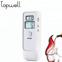 Alcohol tester breathalyzer with Semiconductor sensor and LCD digital display for personal Use