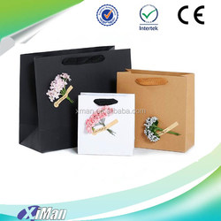 kraft paper storage bag customization sunflower common calla rose mogra The simulation flowers kraft paper bag gift paper bag