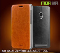 MOFi RUI Series Smart Phone Leather Flip Cover Case Cover for ASUS Zenfone 4.5, T00Q , Back Cover for ASUS Zenfone 4.5