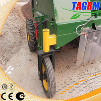 kitchen waste windrow compost machine/leaves and grass compost turner/compost machine
