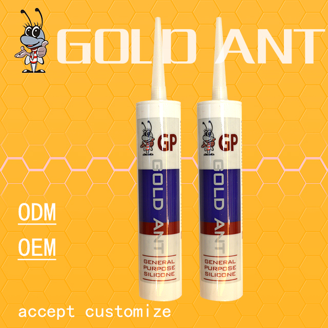 GP/acetic silicone sealant/acid glass glue/adhesive