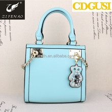 Wholesale new hot product diamante bear handbags