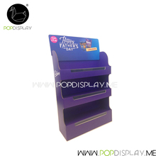 Retail Pos Pop Recycle Corrugated Paper Cardboard Counter Display
