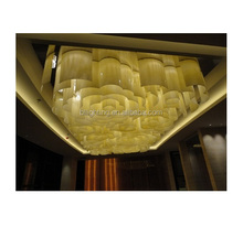 Modern big square emperador light for ceiling