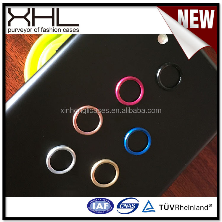 Blank cell phone case for IPhone7 4.7 lens ring to protect the lens multi-color